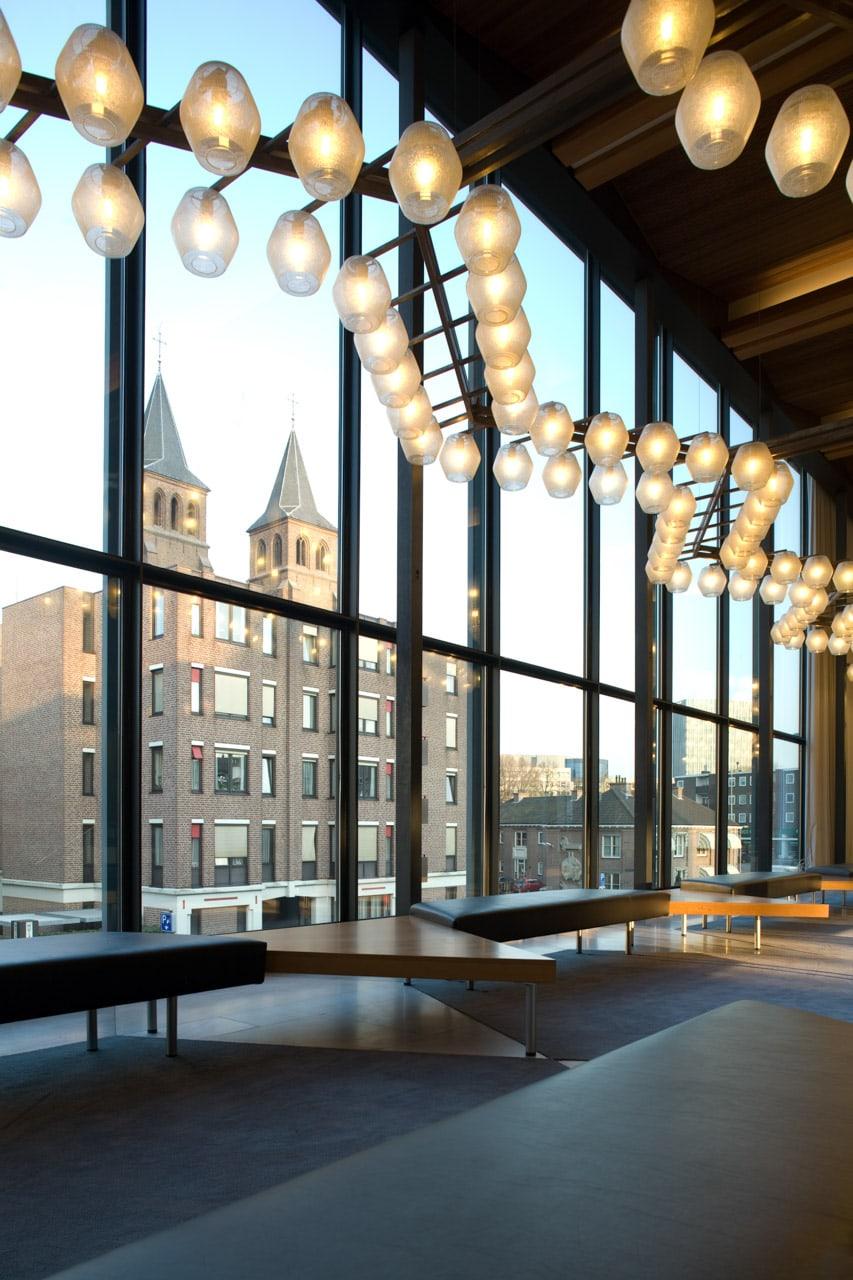lobby edificio Arnhem Holanda