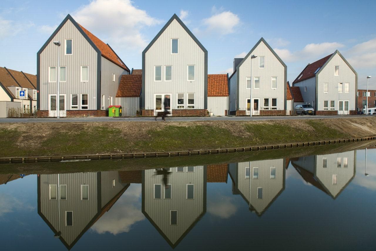 zona residencial recien construida Lafour Architecten