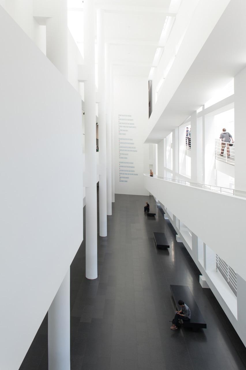 interior museo perspectiva