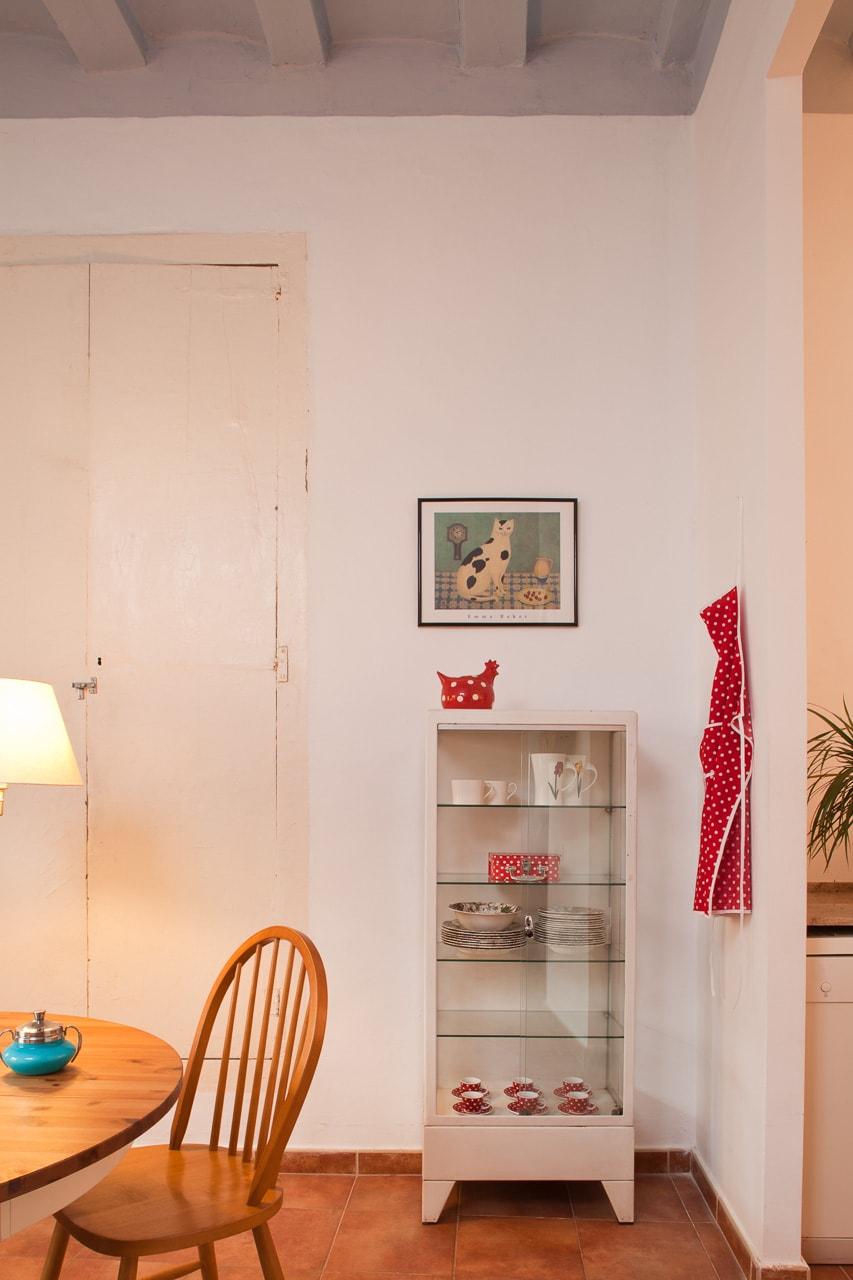 Interior cocina acogedora barcelona estilismo Natalie Romero