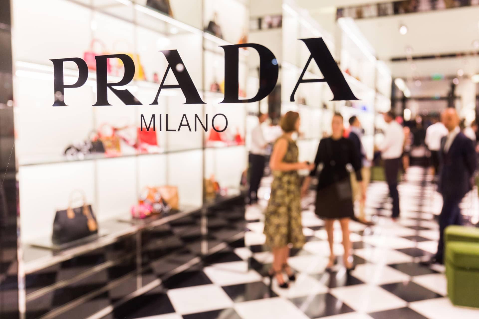 Reportaje evento fashion en tienda Prada, Barcelona