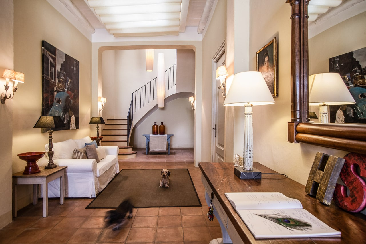 interior masia de lujo