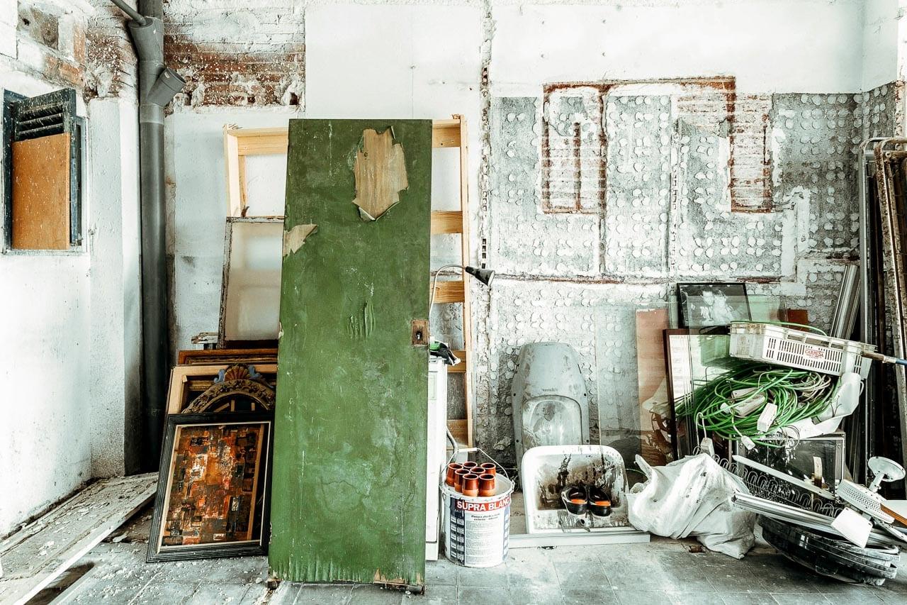 patterns materiales abandonados