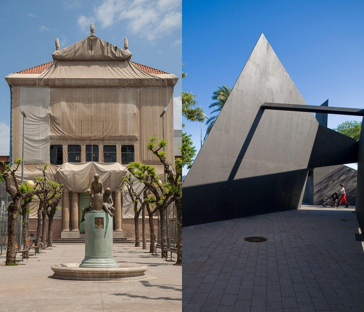 Detalles fotografia arquitectura Barceloba