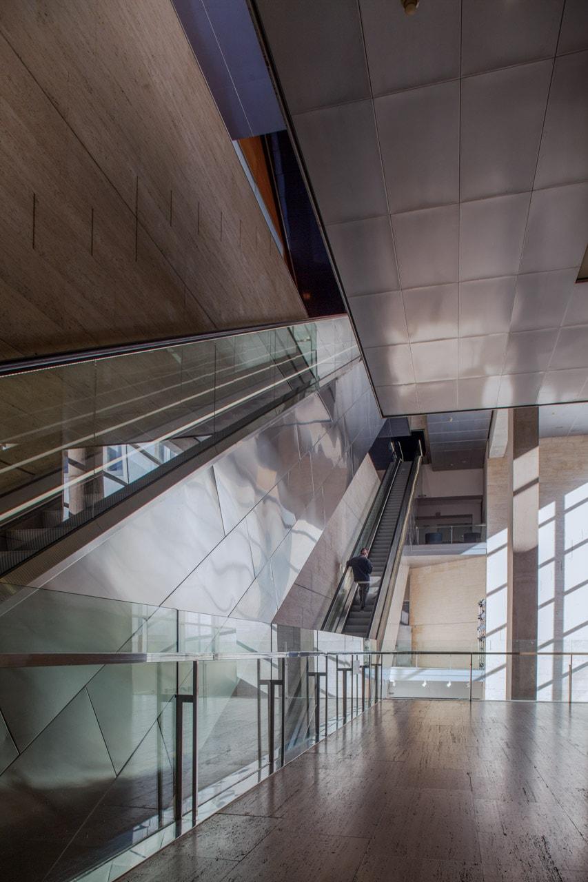 Edificio CCCB rampas escaleras