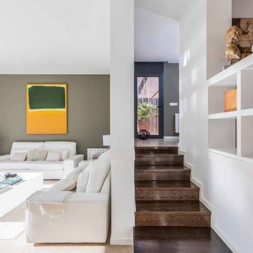 Interior de lujo en Barcelona