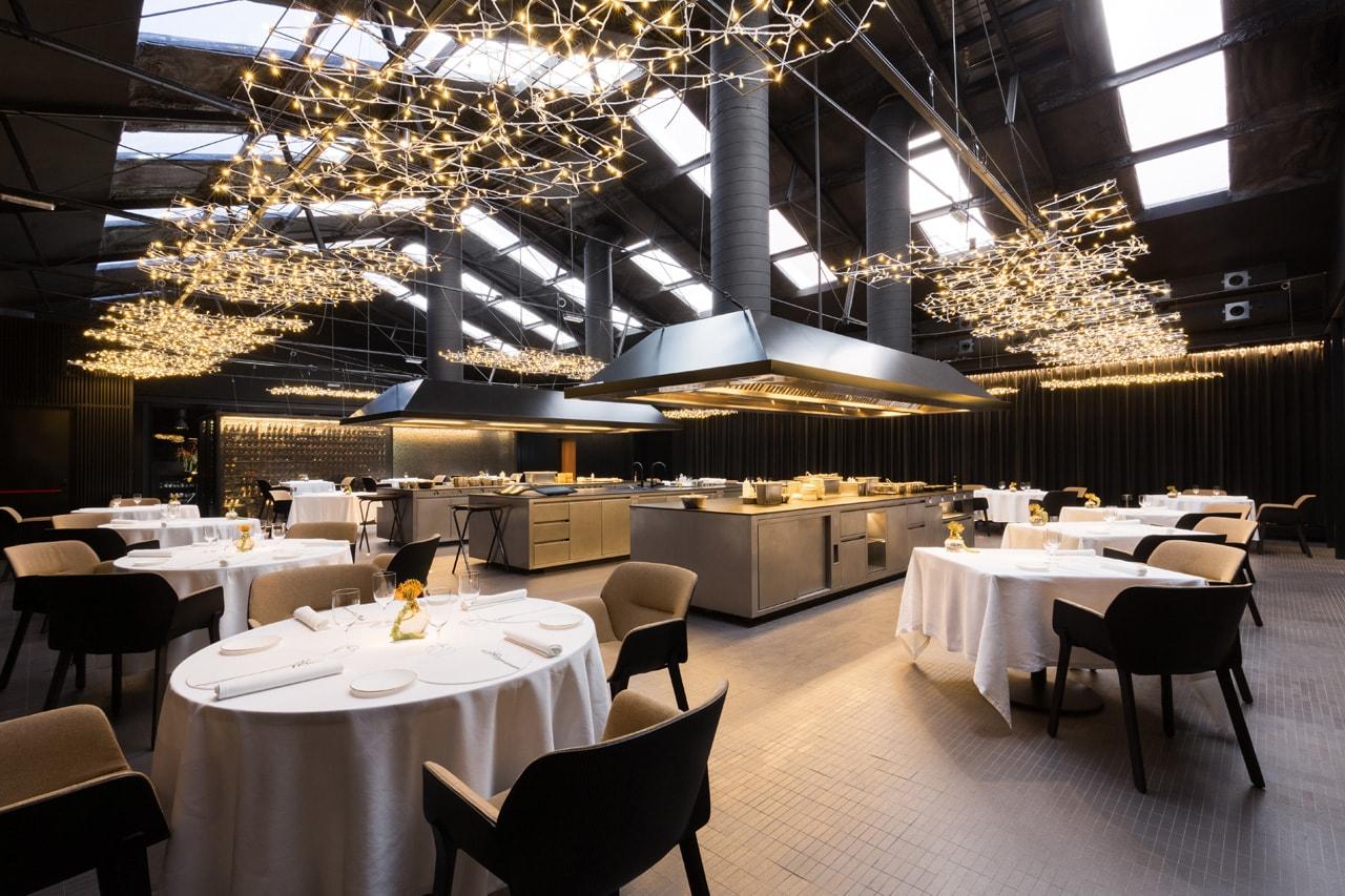 Interiores restaurante Barcelona