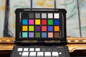 ColorChecker Usage in Art repro