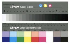 Carta de color y carta de grises